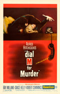 "Movie Posters:Hitchcock, Dial M for Murder (Warner Brothers, 1954). One Sheet (27"" X 41"")....."
