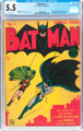 Batman #1 (DC, 1940) CGC FN- 5.5 Off-white pages