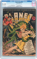 Golden Age (1938-1955):Science Fiction, Planet Comics #22 (Fiction House, 1943) CGC VG/FN 5.0 Cream tooff-white pages....