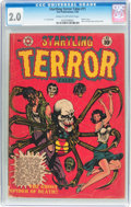 Golden Age (1938-1955):Horror, Startling Terror Tales #11 (Star Publications, 1952) CGC GD 2.0Cream to off-white pages....
