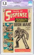Silver Age (1956-1969):Superhero, Tales of Suspense #39 (Marvel, 1963) CGC Apparent FR/GD 1.5 Slight (C-1) Off-white pages....