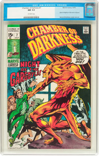 Chamber of Darkness #7 (Marvel, 1970) CGC NM 9.4 Off-white pages
