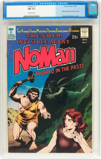 NoMan #1 (Tower, 1966) CGC NM 9.4 Off-white pages