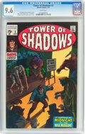 Bronze Age (1970-1979):Horror, Tower of Shadows #3 (Marvel, 1970) CGC NM+ 9.6 White pages....