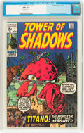 Bronze Age (1970-1979):Horror, Tower of Shadows #7 (Marvel, 1970) CGC NM- 9.2 Off-white pages....