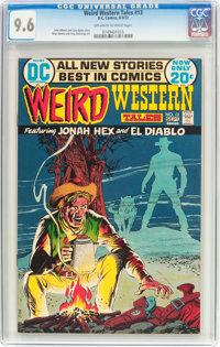Weird Western Tales #13 (DC, 1972) CGC NM+ 9.6 Off-white to white pages