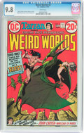 Bronze Age (1970-1979):Science Fiction, Weird Worlds #4 (DC, 1973) CGC NM/MT 9.8 White pages....