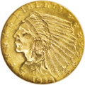 1928 $2 1/2 MS65 NGC. The revival of the quarter eagle denomination in 1925 would be short-lived, as no examples were co...