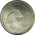 Seated Dollars: , 1859-S $1 MS62 NGC. Only 20,000 business strikes were coined, andthe issue is scarce in all ...