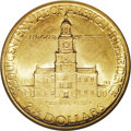 Commemorative Gold: , 1926 $2 1/2 Sesquicentennial MS65 NGC. A luminous apricot-gold Gemthat has a bold strike and obvious eye appeal. Splendidl...