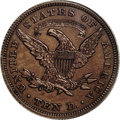 Patterns: , 1862 $10 Ten Dollar, Judd-298, Pollock-357, 358, Low R.6, PR65 Brown PCGS. The obverse has the regular issue design for the...