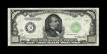 Small Size:Federal Reserve Notes, Fr. 2211-G $1000 1934 Federal Reserve Note. Very Fine+.. This is a strongly embossed example that retains very bright surfac...