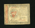 Colonial Notes:Continental Congress Issues, Continental Currency January 14, 1779 $55 Choice About New.Cavernous embossing is found on this boldly signed Continental....