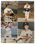 "Autographs:Photos, 1980s Baseball Stars Signed Photographs Lot of 4. All four of thesecolor 8x10"" photographs features one of baseball's brig..."