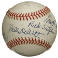Autographs:Baseballs, St. Louis Cardinals Owners Signed Baseball. Eight members of thefront office for the circa 2004 St. Louis Cardinals have e...