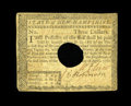 Colonial Notes:New Hampshire, New Hampshire April 29, 1780 $3 Very Fine. This New Hampshire note faces up as a nice Very Fine note but with some tape repa...