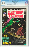 Bronze Age (1970-1979):Horror, The Witching Hour #14 (DC, 1971) CGC NM 9.4 White pages....