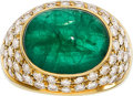 Estate Jewelry:Rings, Emerald, Diamond, Gold Ring. ...
