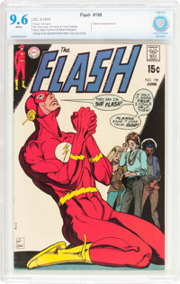 The Flash #198 (DC, 1970) CBCS NM+ 9.6 White pages