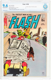 The Flash #199 (DC, 1970) CBCS NM+ 9.6 Off-white to white pages