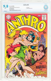 Anthro #6 (DC, 1969) CBCS NM/MT 9.8 White pages
