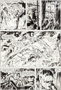 Original Comic Art:Panel Pages, David Mazzucchelli Daredevil #214 Story Page 19 Original Art(Marvel, 1985)....