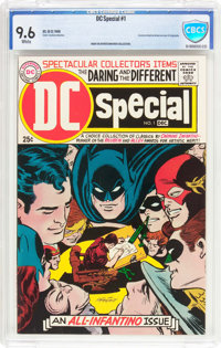 DC Special #1 (DC, 1968) CBCS NM+ 9.6 White pages