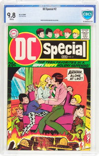 DC Special #2 (DC, 1969) CBCS NM/MT 9.8 White pages