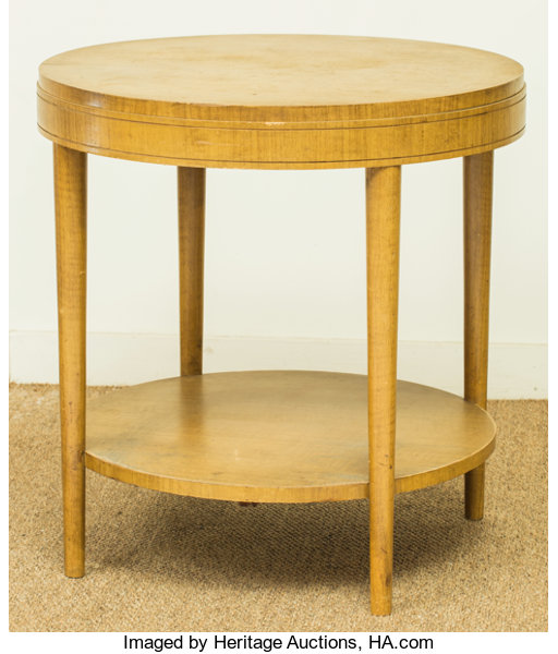 Pleasant A Modern Blonde Wood Side Table Mid 20Th Century 25 1 4 Machost Co Dining Chair Design Ideas Machostcouk