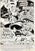 Original Comic Art:Splash Pages, Don Heck and Romeo Tanghal Justice League of America #205Splash Page 1 Original Art (DC, 1982)....