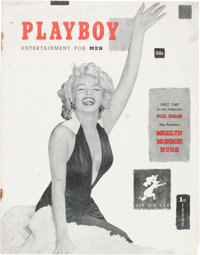 Playboy #1 Red Star Copy (HMH Publishing, 1953) Condition: GD