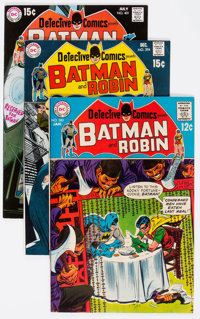 Detective Comics Group of 51 (DC, 1969-80) Condition: Average VF.... (Total: 51 Comic Books)