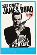 "Movie Posters:James Bond, From Russia with Love (United Artists, 1964). British Double Crown(20"" X 30"") Style B, Eric Pulford and Joseph Caroff Artwo..."