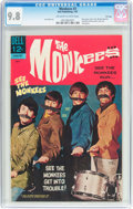 Silver Age (1956-1969):Humor, The Monkees #3 File Copy (Dell, 1967) CGC NM/MT 9.8 Off-white to white pages....