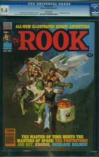 The Rook #10 (Warren, 1981) CGC NM 9.4 White pages