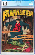 Golden Age (1938-1955):Horror, Frankenstein Comics #20 (Prize, 1952) CGC FN 6.0 Cream to off-whitepages....