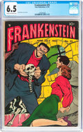 Golden Age (1938-1955):Horror, Frankenstein Comics #25 (Prize, 1953) CGC FN+ 6.5 Cream tooff-white pages....