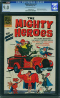 Silver Age (1956-1969):Cartoon Character, Mighty Heroes #2 (Dell, 1967) CGC VF/NM 9.0 Off-white to white pages.