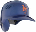 Baseball Collectibles:Others, 2007 Jose Reyes Game Worn Helmet with MLB. ...