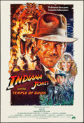 "Movie Posters:Adventure, Indiana Jones and the Temple of Doom (Paramount, 1984). One Sheet(27"" X 41"") Style B. Adventure.. ..."