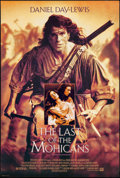 "Movie Posters:Adventure, The Last of the Mohicans (20th Century Fox, 1992). One Sheet(26.75"" X 39.75"") SS. Adventure.. ..."
