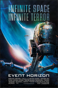 """Event Horizon & Other Lot (Paramount, 1997). One Sheets (2) (27"""" X 40"""", 26.75"""" X 39.75""""). Scienc..."""