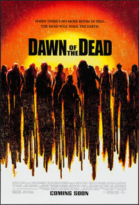 """Dawn of the Dead (Universal, 2004). One Sheet (27"""" X 40"""") DS Advance. Horror"""