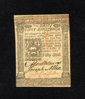 Colonial Notes:Pennsylvania, Pennsylvania October 1, 1773 50s Gem New. This is a lovely exampleof this highest denomination for the issue that is as cri...