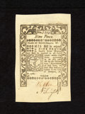 Colonial Notes:Rhode Island, Rhode Island May 1786 9d Superb Gem New. An utterly superb notewith gigantic margins on all sides, superb print quality and...