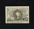 Fractional Currency:Second Issue, Fr. 1288 25c Second Issue Very Choice New. Although the paper is subtly toned the bronzing is bright, the overprint perfectl...