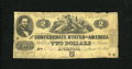 Confederate Notes:1862 Issues, T42 $2 1862. This Deuce is well circulated, yet relatively intact.Judah P. Benjamin was a Yale graduate, class of 1828. ...