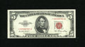 """Small Size:Legal Tender Notes, Fr. 1532* $5 1953 Legal Tender Note. Very Choice New.. One of the loveliest and most original examples of this scarce 1953 """"..."""