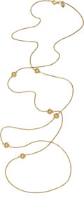 Estate Jewelry:Necklaces, Diamond, Gold Necklace, David Yurman. . ...