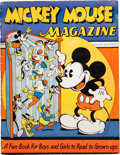 Platinum Age (1897-1937):Miscellaneous, Mickey Mouse Magazine #1 (K. K. Publications/Western Publishing Co., 1935) Condition: GD+....
